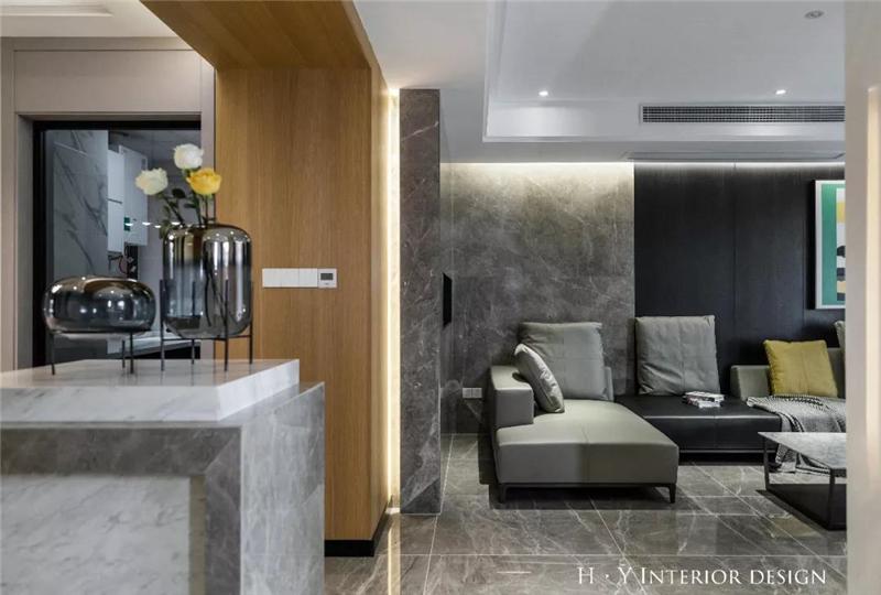 爱家尊邸200㎡现代风格