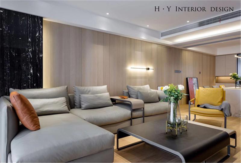 扬子华都197㎡三室两厅两卫现代风格