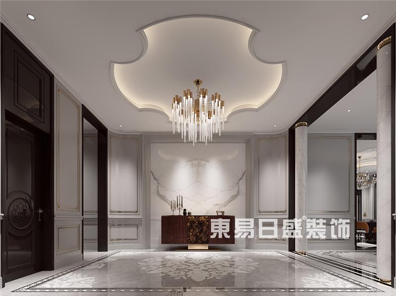 九龙依云装修-欧式轻奢设计-1000平米
