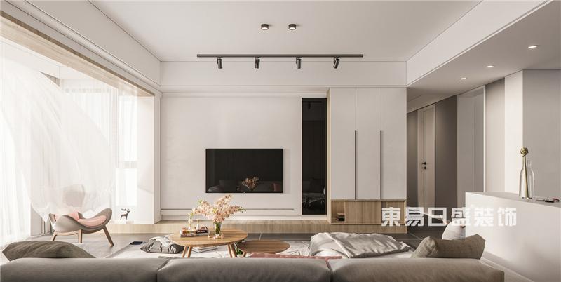 两居室120平米北欧风格案例效果
